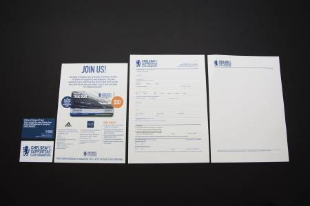 Stationery and Forms for Membership Signup